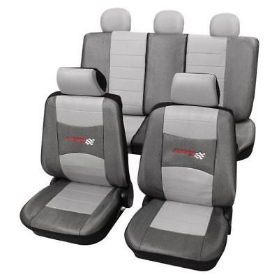 Stylish Grey Seat Covers set - For Vauxhall Astra H 2004 Onwards