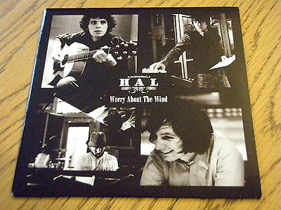 """Hal - Worry About The Wind  7"""" Vinyl Ps"""