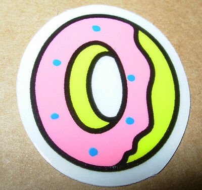 ODD FUTURE OFWGKTA Sticker DONUT BAND LOGO decal New TYLER THE CREATOR