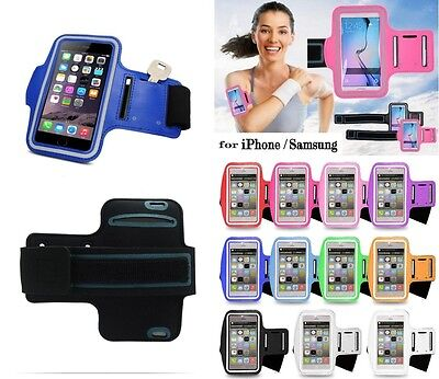Sports Running Jogging Gym Armband Arm Band Case Cover Holder For iPhone Samsung