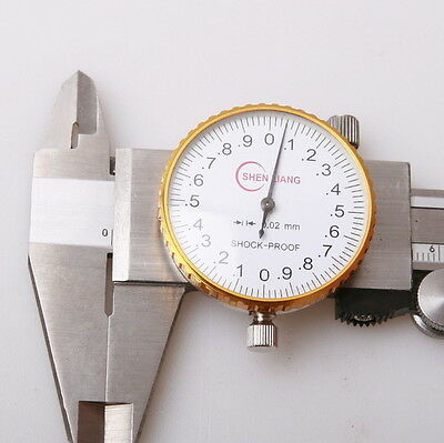 Shock Proof Measure Dial Vernier Caliper Hardened Stainless Steel 150mm Case AU