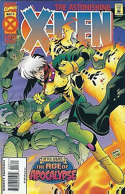 AGE OF APOCALYPSE: ASTONISHING X-MEN #3 of 4 (1995) MARVEL COMICS V/F+