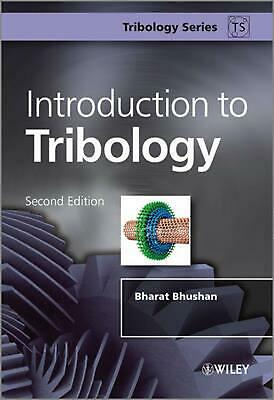 Introduction to Tribology by Bharat Bhushan (English) Hardcover Book Free Shippi