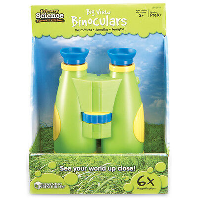 Learning Resources Primary Science Big View Binoculars NEW