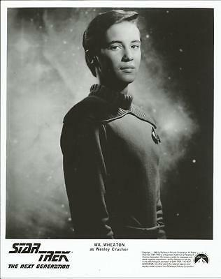 Star Trek The Next Generation Wil Wheaton as Wesley 8 x 10 Photo