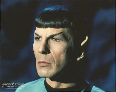 Star Trek Original Series Leonard Nimoy Spock Looking On 8 x 10 Photo