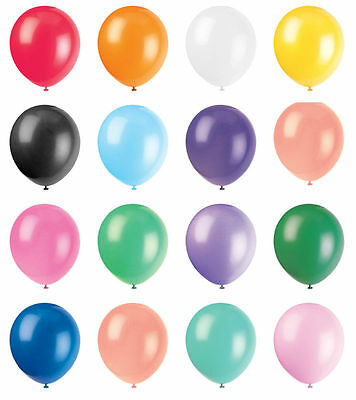100 Pearly Party Balloons Decoration Wedding Birthday Occasions 10""