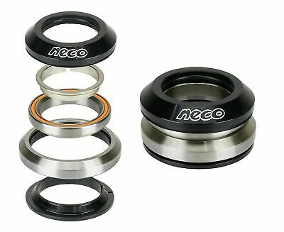 "Bike CNC Integrated Taper Alloy Headset 1-1/8"" 1-1/4"" with Top 7.8mm Bearing"