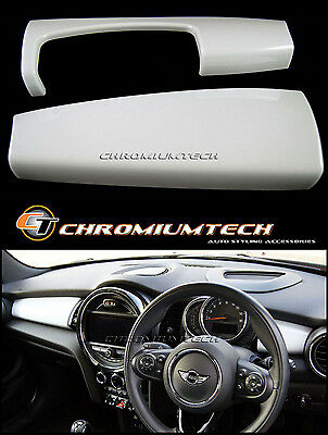 MK3 MINI Cooper/S/ONE WHITE Dashboard Trim Panel Cover F55 F56 Hatch F57 NEW