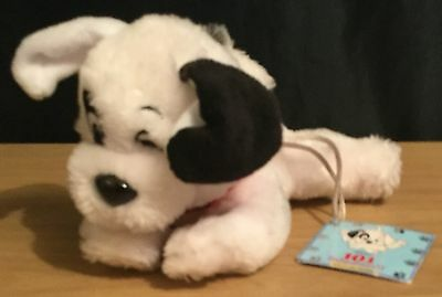Disney Store 101 Dalmatians II Patch's London Adventure Small Soft Toy Beanie