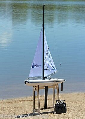 Helion AURA 650 YACHT Sailing Boat - Ready To Sail with Radio Included