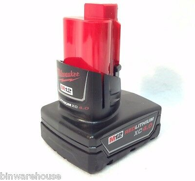 Milwaukee 48-11-2440 New M12 12v Red Lithium XC 4.0 Ah Battery