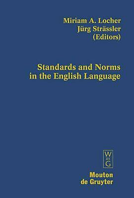 NEW Standards and Norms in the English Language by Hardcover Book (English) Free