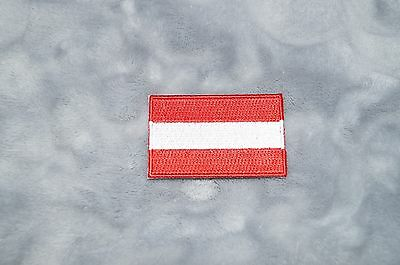 Patch Country Flag Sew On Iron On Jacket Shirt or Pants Austria Color