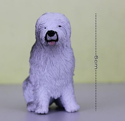 Animal Series 6cm Figure OLD ENGLISH SHEEPDOG