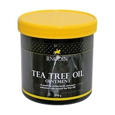 LINCOLN TEA TREE OIL OINTMENT (500G) horse natural antiseptic moisturises 4483
