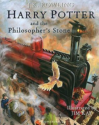 Harry Potter and the Philosopher's Stone Illustrated (HB) ISBN1408845644