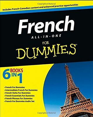 **NEW** - French All-in-one For Dummies With CD (Paperback) ISBN1118228154