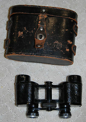 FRANCE BINOCULARS- Colmont Paris 8x with Stereo Prism in case