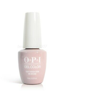 Opi Soak Off Gelcolor Polish GC A60 Don't Bossa Nova Me Around 0.5oz