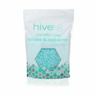 The Hive Tea Tree Low Melt Paraffin Wax Pellets For Manicures & Pedicures