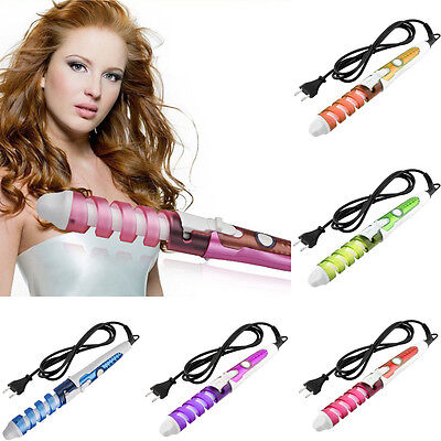 6804ac6dc2d1 Professional Useful Hair Salon Volume Spiral Ceramic Curling Iron Hair  Curler