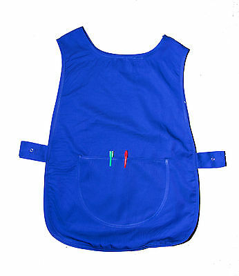 New TABARD TABBARD APRON with pocket Work Wear for Hairdresser Cleaner Domestic
