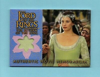 Topps Lord of the Rings Return of King Arwen's Coronation Dress Costume Card