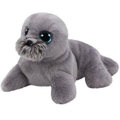TY Classic Plush - WIGGY the Seal (9.5 inch) - MWMTs Stuffed Animal Toy