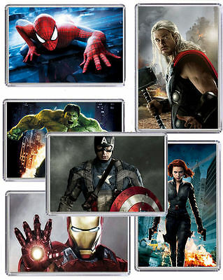 Marvel Characters Magnet Chose from 17 designs FREE POSTAGE