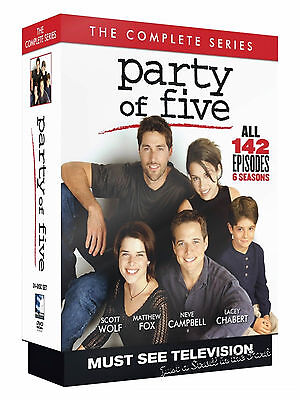 Party of Five - The Complete TV Series Seasons 1 2 3 4 5 6 DVD / Boxed Set NEW!