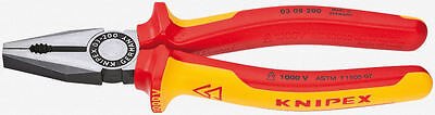 Knipex 03 08 200  8-Inch Combination Pliers Insulated 0308200