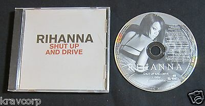 Rihanna 'Shut Up & Drive' 2007 Promo Cd Single