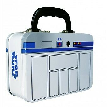 Star Wars R2-D2 Metal Tin Tote Lunch Box