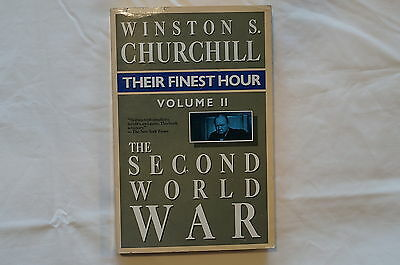 WW2 British Winston Churchill Their Finest Hour Volume II Reference Book