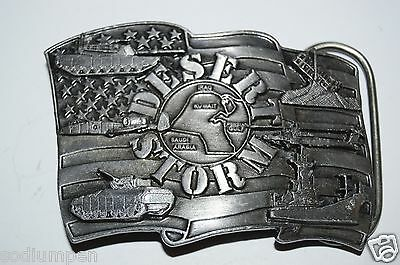 WOW Nice Vintage 1991 Operation Desert Storm US Army Belt Buckle RARE