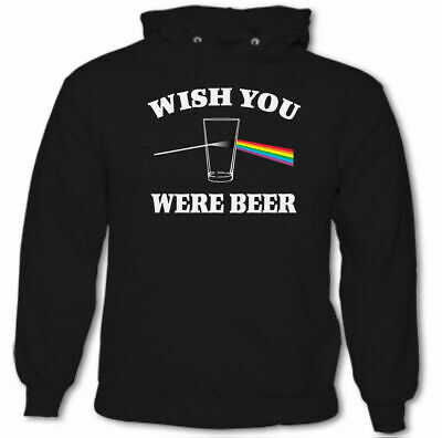 Wish You Were Beer Mens T-Shirt Drunk Drinking Party Pink Floyd Parody Gilmour