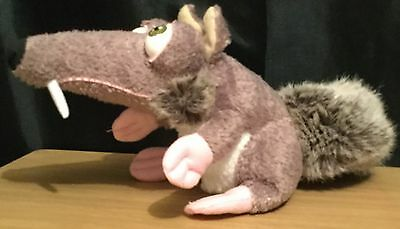 Ice Age 9 Inch Scrat Soft / Plush Toy By Jakks Pacific