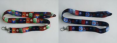 Marvel/dc Comics Super Heroes Lanyard/keychain, New, Free Shipping