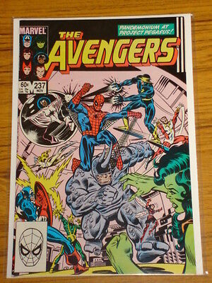 Avengers #237 Vol1 Marvel Comics Spiderman Apps Scarce November 1983
