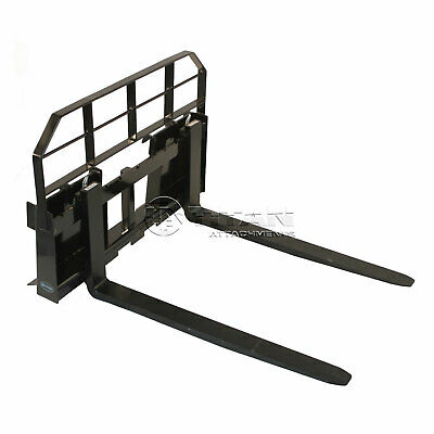 "36"" Pallet Fork Attachment 5500 lb Capacity Tractor Skid Steer Quick Tach"