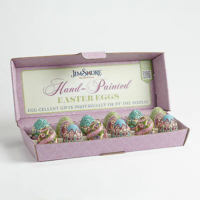 Jim Shore Assorted Miniature Victorian Easter Eggs ~ 4051407