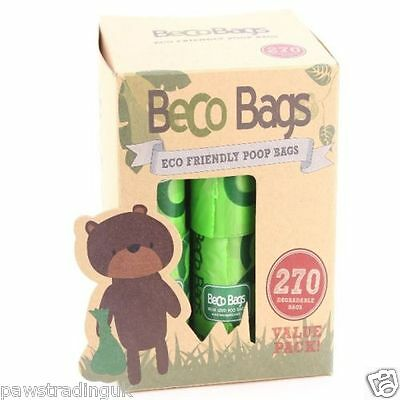 BECOTHINGS BECO POO BAG RANGE biodegradable eco-friendly dogs litter bags 270