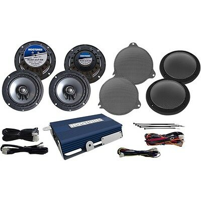 Hogtunes 4 Channel Amp Speaker Kit For Harley - NCA450UKIT-RM