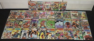 Vintage Marvel Bronze-Copper The Thing 35pc High Grade Comic Lot Fantastic Four