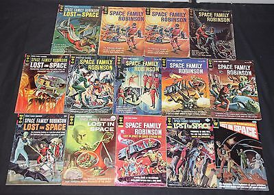 Vintage Gold Key Space Family Robinson 14pc Low-Mid Grade Comic Lot With #1