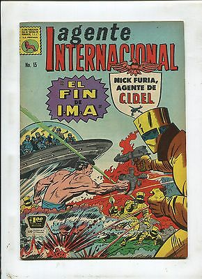Mexican Strange Tales #149 ~ Nick Fury ~ (Grade 6.0) WH