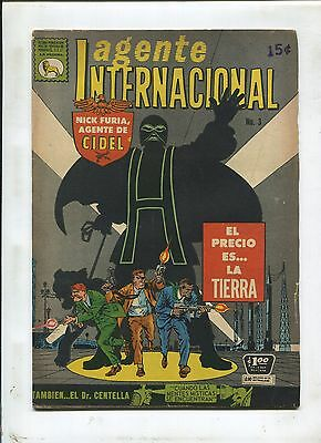 Mexican Strange Tales #137 ~ Nick Fury! ~ (Grade 6.5) WH