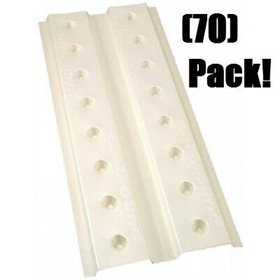 """(70) ea Ado UDV2248 70 Pack 22"""" x 48"""" Durovent Polystyrene Foam Rafter Vents"""