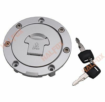 Fuel Cap Gas Tank Cover With Key For Honda CBR600F F4 F4I 2000 2001 2002 - 2007